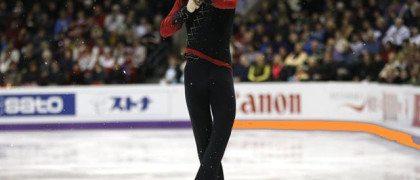 Javier Fernández López actuación al obtener bronce en Moscú