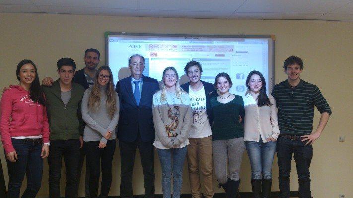 Director de la asociación de franquicias con alumnos de la UE