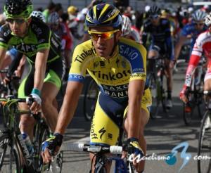 Alberto Contador, en el Tour del Algarve. Foto: esciclismo.com