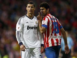 Cristiano Ronaldo y Diego Costa (Foto Europaress)