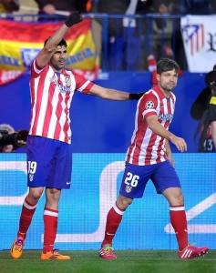 Diego Costa le anotó tres goles al A.C. Milán en dos partidos - Cortesía Flicker -