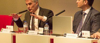 David Cantero en la Universidad Europes/ Lucía Fresneda