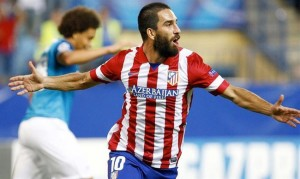 Arda Turán celebrando el gol. Fuente: EurpoaPress.
