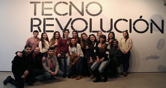 Alumnos de la Uem en Tecnorevolución