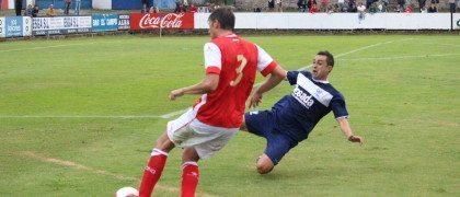Oriol Lozano en Luanco. Foto: Arturo Herrera.