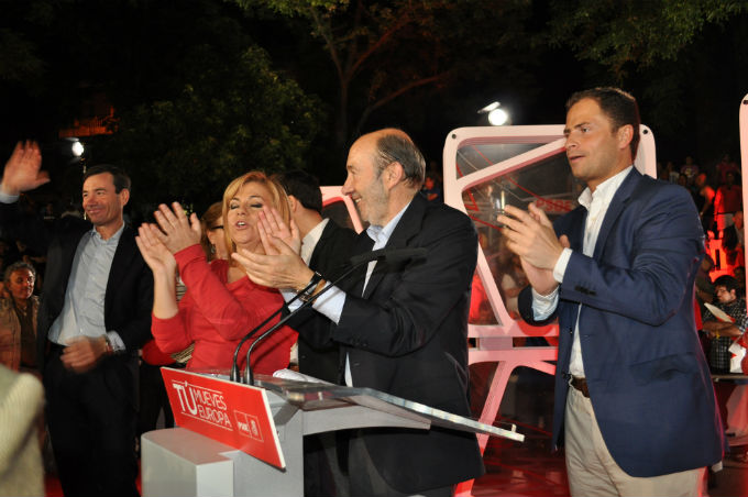 Foto: Marta Albornos. Apertura de la campaña para las Elecciones Europeas 2014, PSOE
