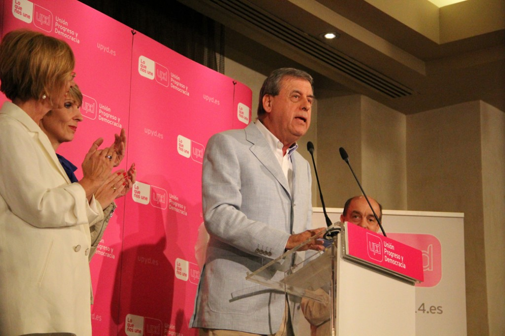 Francisco Sosa Wagner, eurodiputado de UPyD