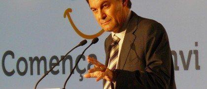 Artur Mas en una comparecencia