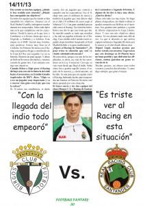 Extracto de la primera entrevista a Miguel Ángel Portugal, por aquel entonces en Bolivia.