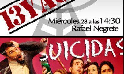 13 y Acción: Rafael Negrete
