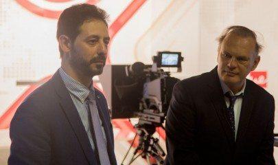 Pedro Piqueras con Luis Alonso