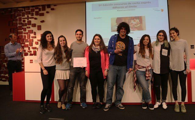 FOTO: entrega de premios, realizada por Sara Rodríguez