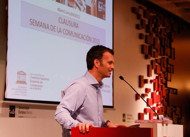 FOTO: Luis Calandre, realizada por Sara Rodríguez