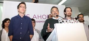 José Manuel López se dirige a los medios durante la comparecencia