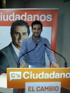 Iñigo Grijalba, portavoz Ciudadanos Donostia.