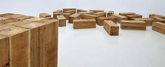 Escultura de Carl Andre