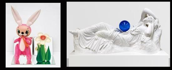 Esculturas de Jeff Koons
