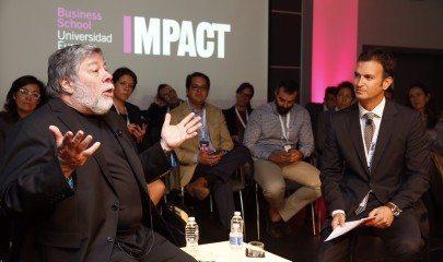 Stephen Wozniak y Luis Calandre