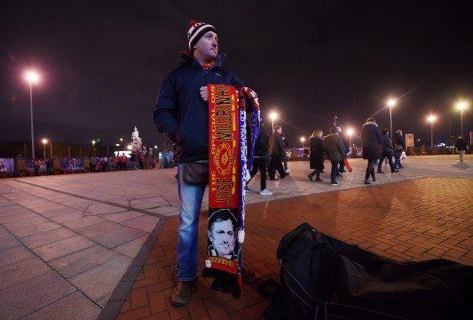 Vendedor de bufandas de Mourinho