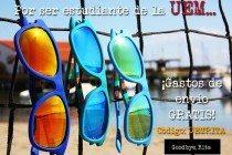 Por ser de la Universidad Europea, promoción especial de las gafas Goodbye Rita.