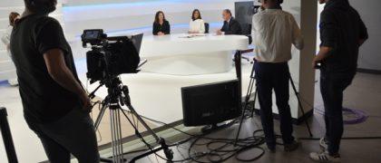 El nuevo Plató de TV de la Facultad de Ciencias Sociales y de la Comunicación