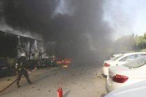 Explosión en Cámara de Comercio, Antalya.