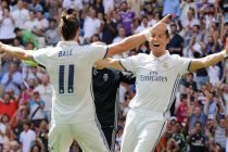 Cristiano Ronaldo y Gareth Bale celebrando un gol./ Goal.com