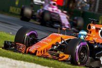 Fernando Alonso, McLaren-Honda, 2017 Formula 1 Gran Premio de Australia, Albert Park circuit, Melbourne. EFE/EPA/SRDJAN SUKI