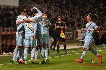 El Rayo Vallecano venció al Girona en Montilivi. Foto: La Liga.