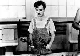 Charles Chaplin Tiempos Modernos