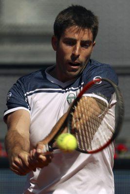 Enrique López, en una previa del Mutua Madrid Open / Sergio Barrenechea