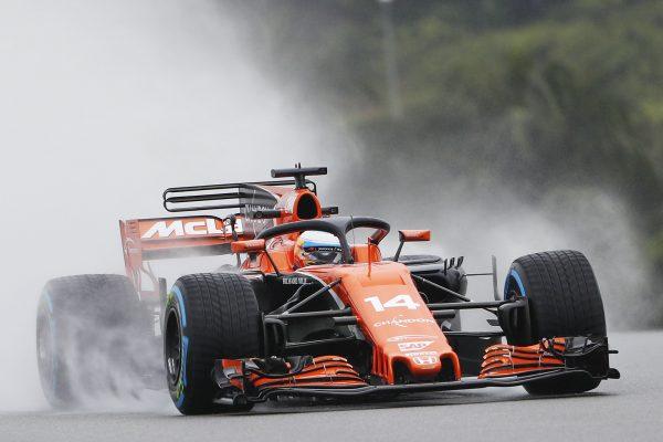 El piloto entrenando para un Gran Premio en la pasada temporada – Fuente: EFE