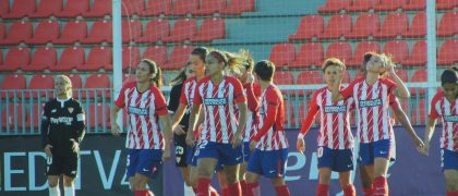 Equipo del Atlético Fem