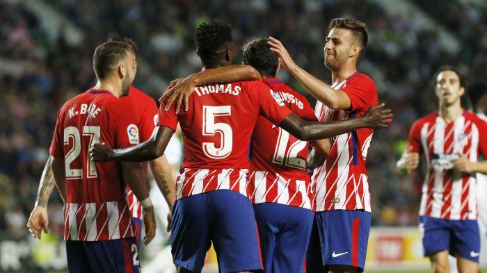 Atlético de Madrid avanza en la Copa del Rey