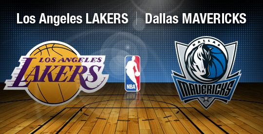 Los Angeles Lakers vs Dallas Mavericks