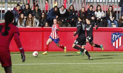 El Atlético de Madrid B se enfrentó al CD Tacón el pasado domingo. | TWITTER (@ATLETIACADEMIA).