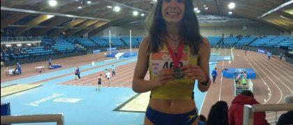 María Cano, subcampeona de España Sub 20