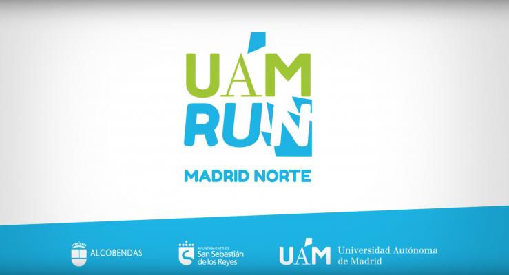 Cartel publicitario del evento UAM Run Madrid Norte. Fuente: uamrun.com