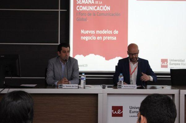 Tomás de Cos en la Semana de la Comunicación 2019