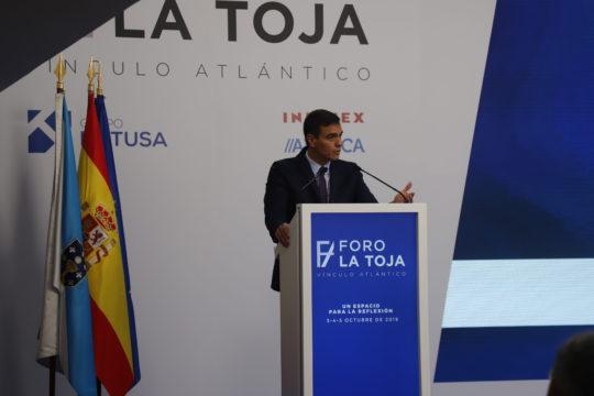 Pedro Sánchez Foro La Toja. Europea Media, Alexis Peños
