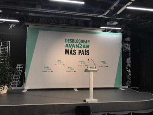 Sede de Más País en Madrid - Alicia Rodríguez