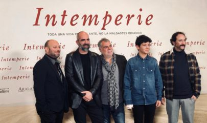 Intemperie photocall