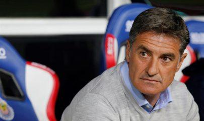 Míchel Gonzalez entrenador de Pumas ( FOTO AGENCIA EFE)