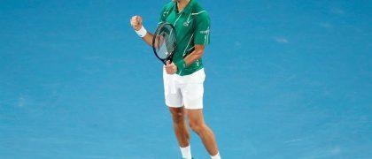 Novak Djokovic consiguió su octavo título de Australia. Fotografía: EFE/EPA/ROMAN PILIPEY