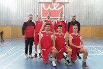 El equipo de baloncesto de la UEM sigue on buen paso en la Liga Universitaria. Fotografía: Ivan Sotelo
