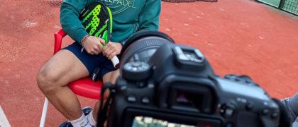 Sergio Alba Sánchez, jugador profesional de Pádel. Foto: Andrea Varea Fernández