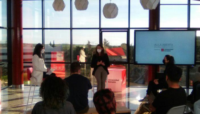 Alicia Richart en la Universidad Europea de Madrid