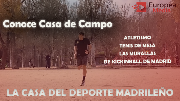 deporte local madrid casa de campo atletismo tenis de mesa las murallas de kickingbal de madrid españa