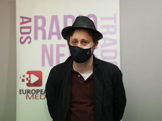 Jon Viar en Europea Media Durante la XXVII Semana de la Comunicación.