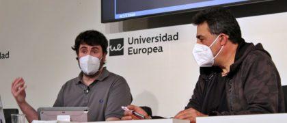 De izquierda a derecha Daniel Ochoa y Juan Luis Moreno. Foto: Europea Media